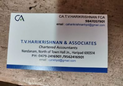 T V Harikrishnan and Associates