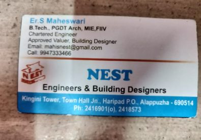 Nest Engineers and Building Designers haripad