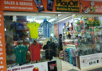 Playoff mobiles and Sport shop Haripad