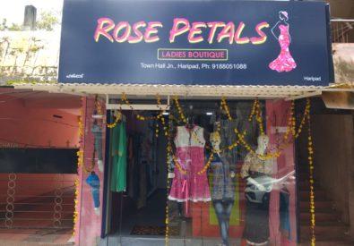 Rose Petals haripad