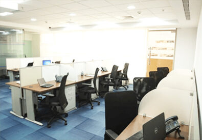 Sanitized coworking space in Bangalore for Rent at Prime Bus...